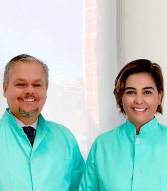 Dr. Adalcyr Luiz da Silva Jr e Dra. Alaise Vasconcelos